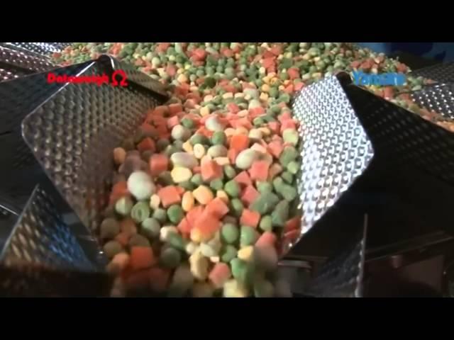 Frozen Vegetables/Tiegekühltes Gemüse, Multihead weigher/Mehrkopfwaagen, Yamato Scale