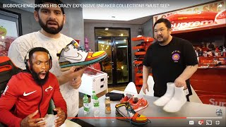 EASILY OVER $1,000,000 DOLLAR SNEAKER COLLECTION! BIGBOYCHENG Sneaker Collection!