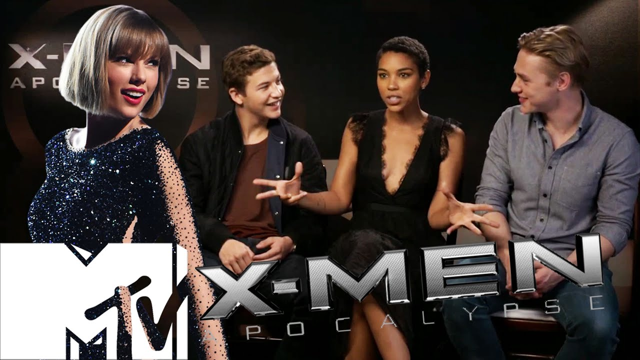 X-Men: Apocalypse Deleted Taylor Swift Mall Scene & Cast ...