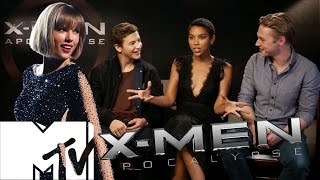 X-Men: Apocalypse Deleted Taylor Swift Mall Scene & Cast Reveal All | MTV Movies
