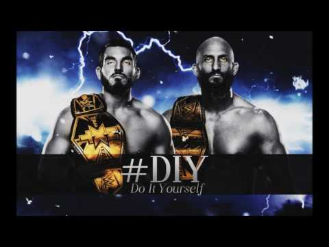 WWE: #DIY Theme Song [Chrome Hearts] (Intro Cut/Exit) + Arena Effects