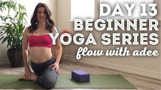 DAY 13/30 Beginner Yoga Series | Hip Opening Sequence