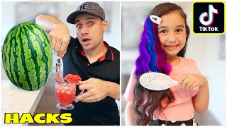 Today we tested a lot viral tiktok life hacks!! btw announced our first giveaway winner if you still haven't join there's time watch this video to l...
