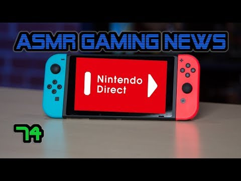 ASMR Gaming News (74) Nintendo Switch Direct, Overwatch, Monster Hunter World, Shenmue 3, DMC5 +More