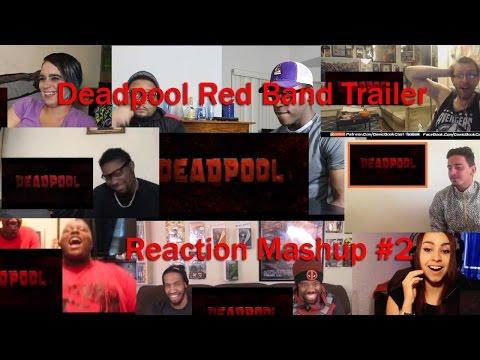 DEADPOOL Red Band Trailer Reaction MASHUP #2