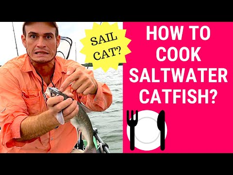 Catch & Cook Gafftopsail | Baked Saltwater Catfish Recipe