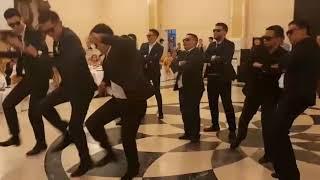самый лучший флешмоб подарок невесте молодожены танец на свадьбе невесте зажигают 2018 год