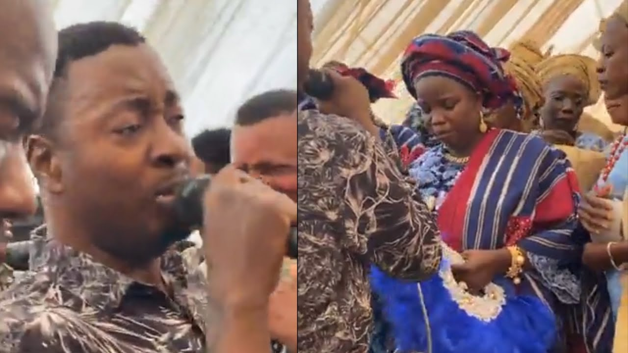 Download OLOKINNI OF OKINNI QUEEN RAIN MONEY ON TAYE CURENCY AS HE PERFORM AT HIS 30TH CORONATION ANNIVERSARY