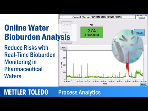 Real-Time Bioburden Monitoring In Pharmaceutical Water With 7000RMS