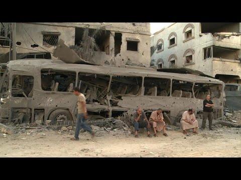 Israel hits Gaza, suspends Cairo talks after rocket fire