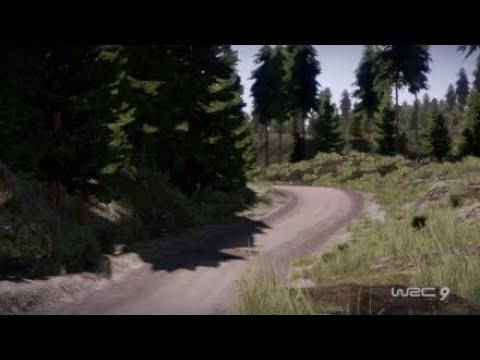 WRC 9 Finland Kalle Rovenperä Päilälä Stage  