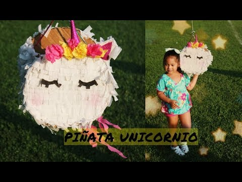 Como Hacer Una Piñata De Unicornio Diy