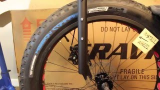 How To Build A Bicycle ( Gravity Bullseye Monster fat bike / Bikesdirect ) HD