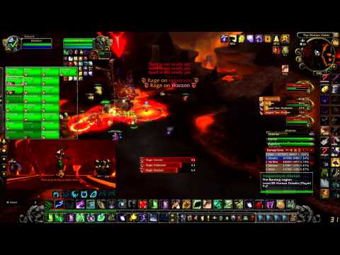 The Burning Legion vs Shanox 25 HC (Molten WOW, realm Neltharion)
