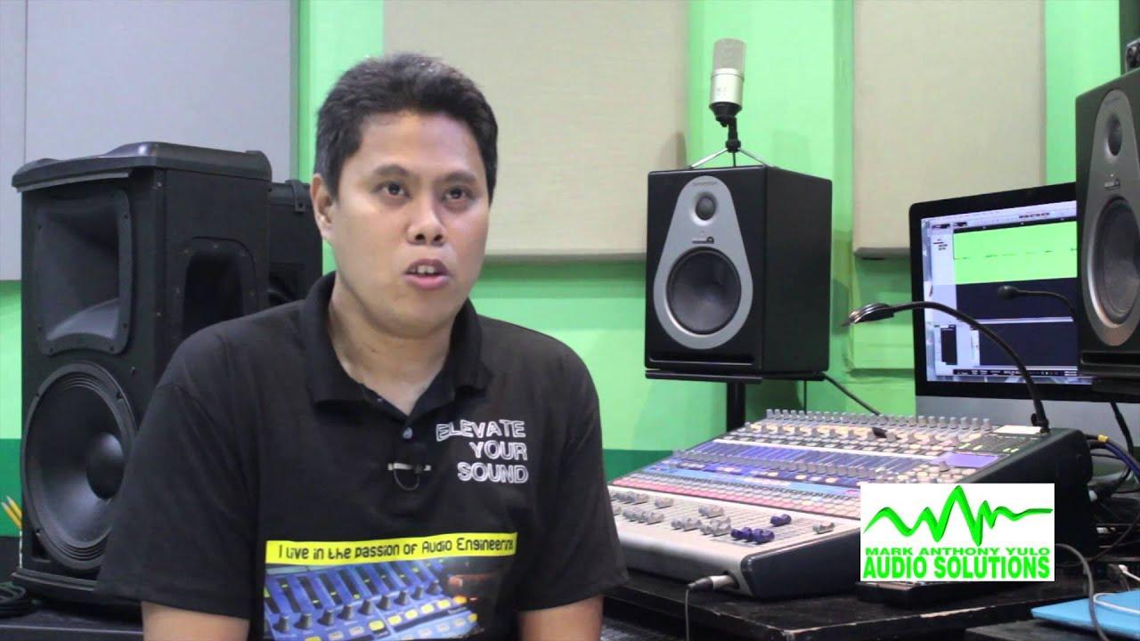 Regie Villena on Hands on Audio Training by Mark Yulo