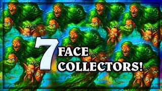Wild 7 Face Collectors ~ The Witchwood Hearthstone