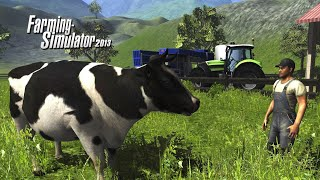 How To Feed Cows - Farming Simulator 2013