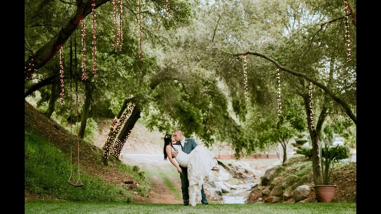 Los Willows Wedding Video San Diego Videographer Youtube