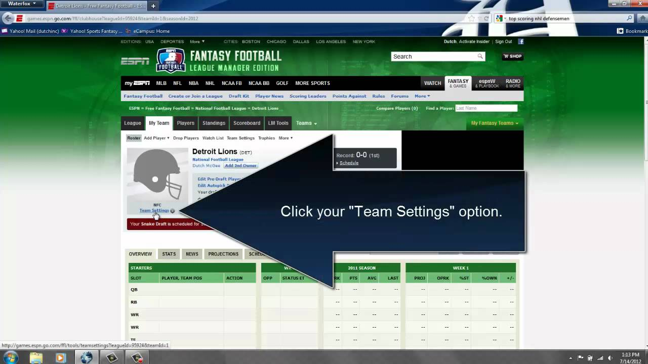 Changing Team Logos - NFL on ESPN - YouTube