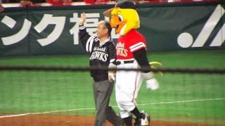 2014年10月30日 プロ野球日本シリーズ第5戦 ソフトバンクホークス優勝の...
