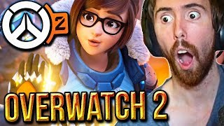 Asmongold Reacts To Overwatch 2 Cinematic Trailer & Gameplay - Blizzcon 2019