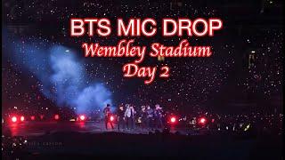 BTS (방탄소년단) 'MIC DROP' WEMBLEY STADIUM DAY 2 | 19060…