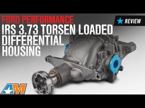 2015-2017 Mustang GT, V6 Ford Performance IRS Loaded Differential Housing 3.73 Torsen Review