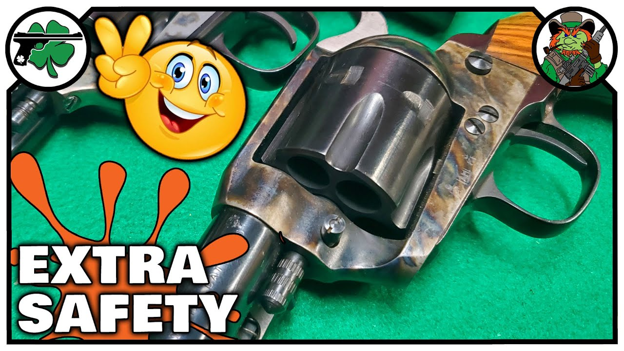 Single Action Revolver Safety | How Cylinder Base Pin Safety Works