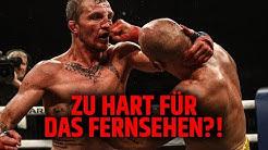 ZU HART FÜR DAS FERNSEHEN? BOXEN OHNE HANDSCHUHE!!