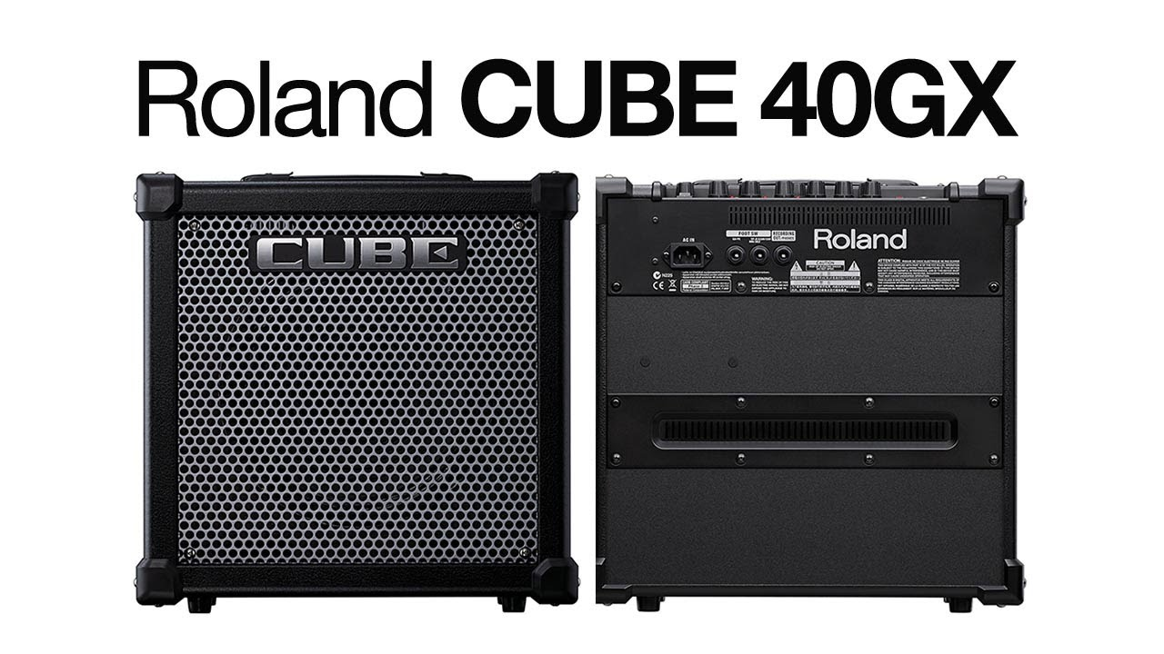 guitar player tests roland 39 s new cube 40gx youtube. Black Bedroom Furniture Sets. Home Design Ideas