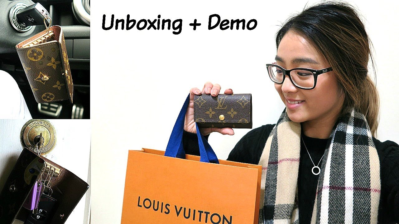 caeb954d Louis Vuitton 6 Ring Key Holder | Demo and Review