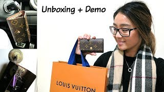 Louis Vuitton 6 Ring Key Holder   Demo and Review