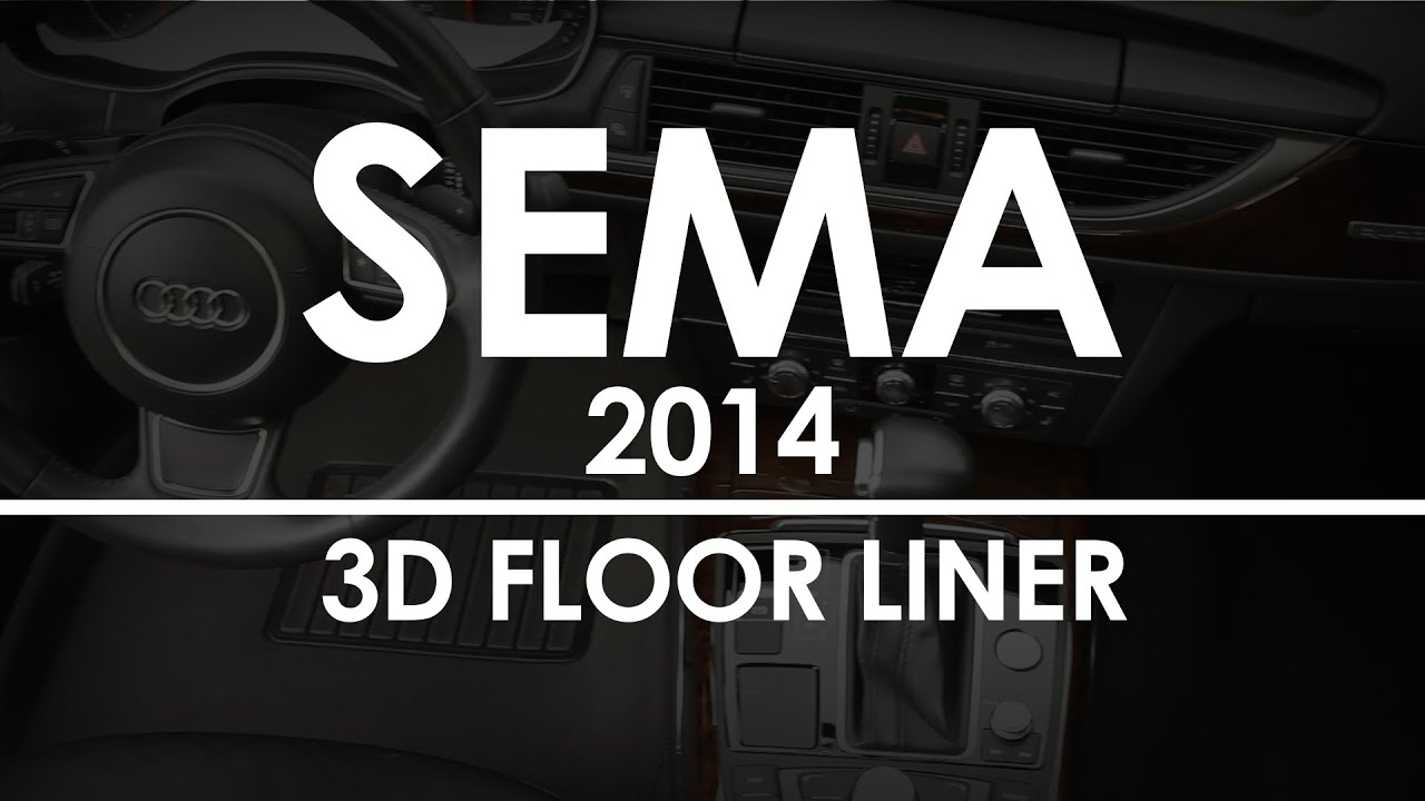 ARIES 3D Floor Liners Overview SEMA 2014  YouTube