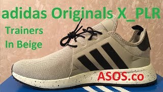 adidas Originals X_PLR Trainers In Beige и кое что еще // ASOS.com // Обзор