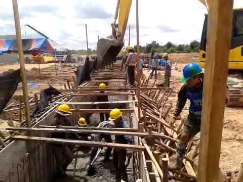 115/22 KV Substation Ban Nongdeun Project ( Pouring