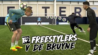 F2 freestylers & kevin de bruyne | epic flicks, tricks & volleys