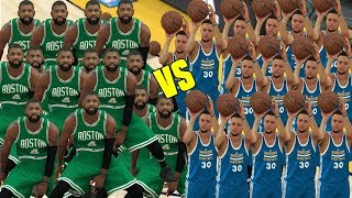 15 Stephen Curry Vs 15 Kyrie Irving! NBA 2K17 Gameplay Challenge!