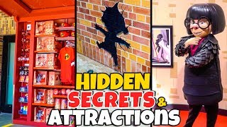 Top 5 Hidden Secrets & New Attractions of Pixar Place - The Incredibles