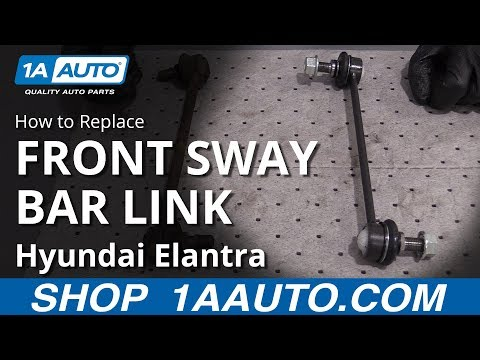 How to Replace Front Sway Bar Links 07-10 Hyundai Elantra