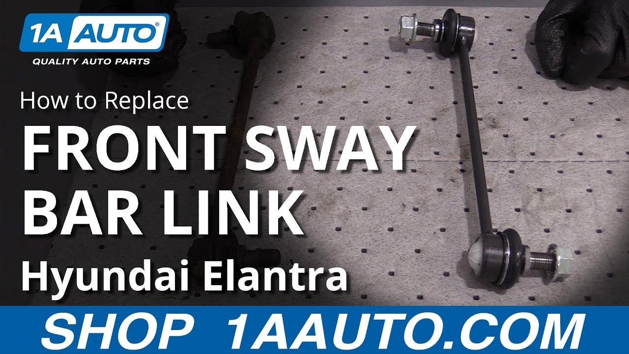 Right Elantra 07-12 Forte 10-13 Front Stabilizer Sway Bar Link Suspension Details about  /Left