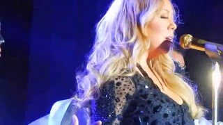 (HD) Mariah Carey - Car Ride live Luxembourg sweet sweet fantasy tour Loverboy Obsessed Shake it off