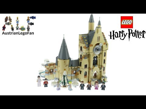 Lego Harry Potter 75948 Hogwarts Clock Tower Speed Build