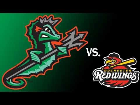 Norfolk Tides vs. Rochester Red Wings -- August 25, 2016