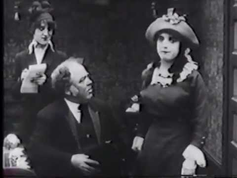 HIDE AND SEEK (1913) -- Mabel Normand, Ford Sterling