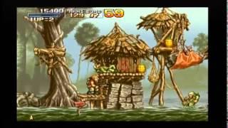 PlayStation - Metal Slug (Gameplay) PS Underground import demo on US system