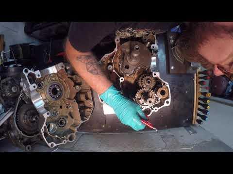 Remontage bas moteur DUCATI 1100