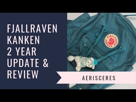 Fjallraven Kanken Backpack: 2 Year Update and Review