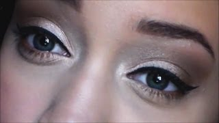 ♡ Neutral Everyday Eye Makeup Tutorial (Update) Using Drug Store Products ♡ Thumbnail
