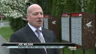 Breaking Into Canada Post Boxes