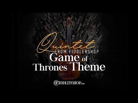 "Fiddlershop Quintet Plays, ""Game of Thrones Theme"""